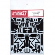 1/20 F60 Carbon decal for TAMIYASTUDIO27 【Carbon Decals】