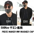 PIECE MAKER WW WASHED CAP [ SHINeeテミン着用]