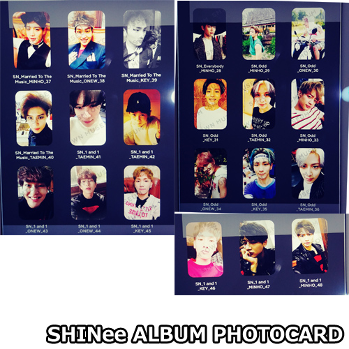 SHINee ALBUM PHOTOCARD 「SM TOWN MUSEUM」