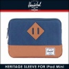 ハーシェル サプライ Herschel Supply 正規販売店 iPad Mini ケース Heritage Sleeve for iPad Mini Sleeves 10139-00007-OS Navy A52B B3C C3D D0E E06F
