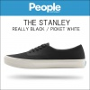 ピープルフットウェア People Footwear 正規販売店 メンズ 靴 シューズ THE STANLEY NC02-001 REALLY BLACK / PICKET WHITE A80B B3C C4D D2E E13F