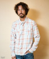 【Kis-My-Ft2 二階堂高嗣さん着用】SPECK-BLEACH CHECK SHIRTS TSHS1808 チエックシャツ