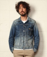 【先行予約商品】HYBRID-STRETCH DENIM JACKET TYPE-VINTAGE (TJKF1906)